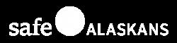 SafeAlaskans_logo_white_filled